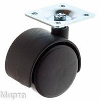 Ролик d - 40 мм на металлической платформе КР