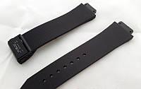 Ремешок к часам HUBLOT черный, застежка черного цвета