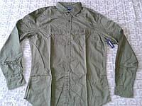 Мужская рубашка Old Navy Men's Roll-Sleeve Slim-Fit Shirts