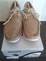 Мужские топсайдеры Sebago Canton Suede Boat Shoes