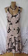 Новое стильное платье SOUTH вискоза L 50-52 В210N