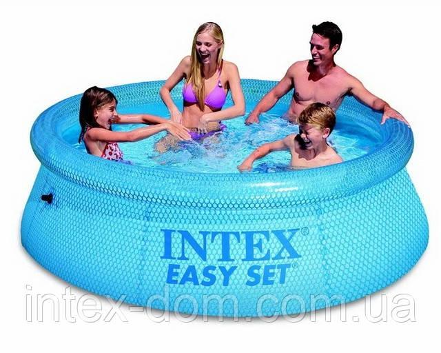 Надувной бассейн Intex(интекс) 54910 Clearview Easy Set Pool (244 х 76 см) киев