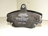 Тормозные колодки передние на Рено Логан 2004-2012 FOMAR FRICTION - 724281
