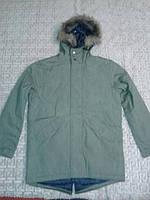 Демисезонная мужская куртка Old Navy Men's Long Hooded Canvas Coats
