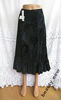 Новая юбка с узорами PER UNA MARKS&SPENCER полиэстер вискоза M 46 - 48 109N