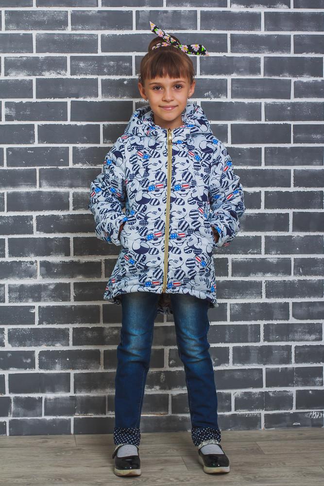 Стильная курточка для девочки Микки