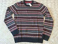 Мужской зимний свитер Aeropostale Fair Isle Crew Neck Sweater