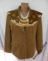 Новый пиджак DRESSBARN хлопок L 50-52 197N