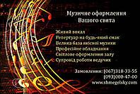 Живая музыка на юбилей, г. Белая Церковь