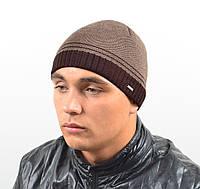 Мужская вязанная шапка  *1648 (С.Р.Ж.)