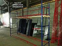 Фасадные строительные леса Клино-хомутовые (КХЛ)