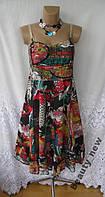 Новое летнее платье SЕNSATION хлопок S 42 - 44