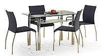 Кухонный прямоугольный стол Halmar Levis из закаленного стекла