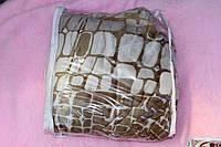 Двуспальная махровая простынь из полированой микрофибры East Comfort