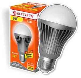 Энергосберегающие лампочки Electrum