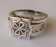Кольцо-оберег МОЛВИНЕЦ 3208Г, серебро 925 проба.