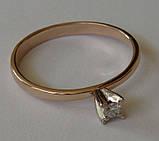 Кольцо ЮМБ, золото 585 проба, бриллиант 0,03кт., фото 3