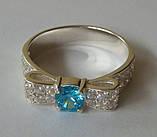 Кольцо КЕ458МД, серебро 925 проба, кубический цирконий., фото 3