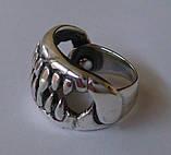 Кольцо К7530ММ, серебро 925 проба, чернение., фото 4
