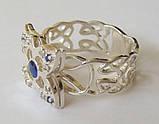 Кольцо К6210ММ, серебро 925 проба, кубический цирконий, распродажа., фото 2