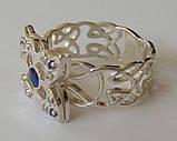 Кольцо К6210ММ, серебро 925 проба, кубический цирконий, распродажа., фото 5