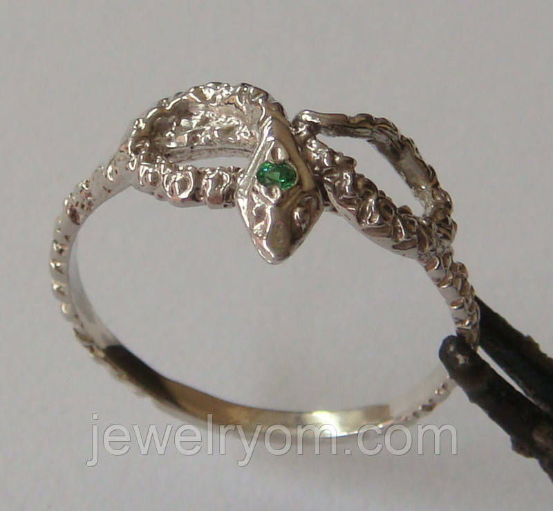 Кольцо К5160ММ, серебро 925 проба, кубический цирконий.