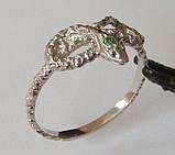 Кольцо К5160ММ, серебро 925 проба, кубический цирконий., фото 2