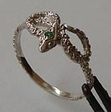 Кольцо К5160ММ, серебро 925 проба, кубический цирконий., фото 3