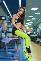 Эластичные леггинсы на резинке для фитнеса