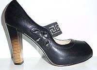 Шикарные модные туфли HELEN black, р.36-40, фото 1