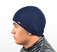 Мужская вязанная шапка  *1624 (С.Р.Ж.)