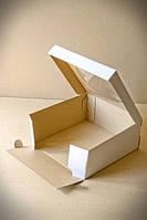 Коробка картонная для торта, чизкейка, пирога, с окном, 25 см х 25 см х 11 см