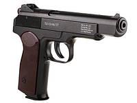 Пневматический пистолет Gletcher APS NBB, 22-ти зарядный магазин, калибр 4,5 мм, копия Стечкина