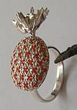 Кольцо К1163М, серебро 925 проба, кубический цирконий распродажа., фото 3