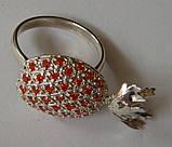 Кольцо К1163М, серебро 925 проба, кубический цирконий распродажа., фото 5
