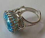 Кольцо женское EXV, серебро 925 проба, кубический цирконий., фото 4