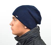 Мужская вязанная шапка  *B619 (С.Р.Ж.)
