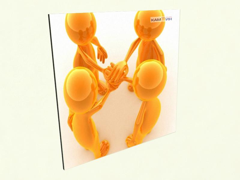 Керамічний обігрівач КАМ-ИН з зображенням в офіс