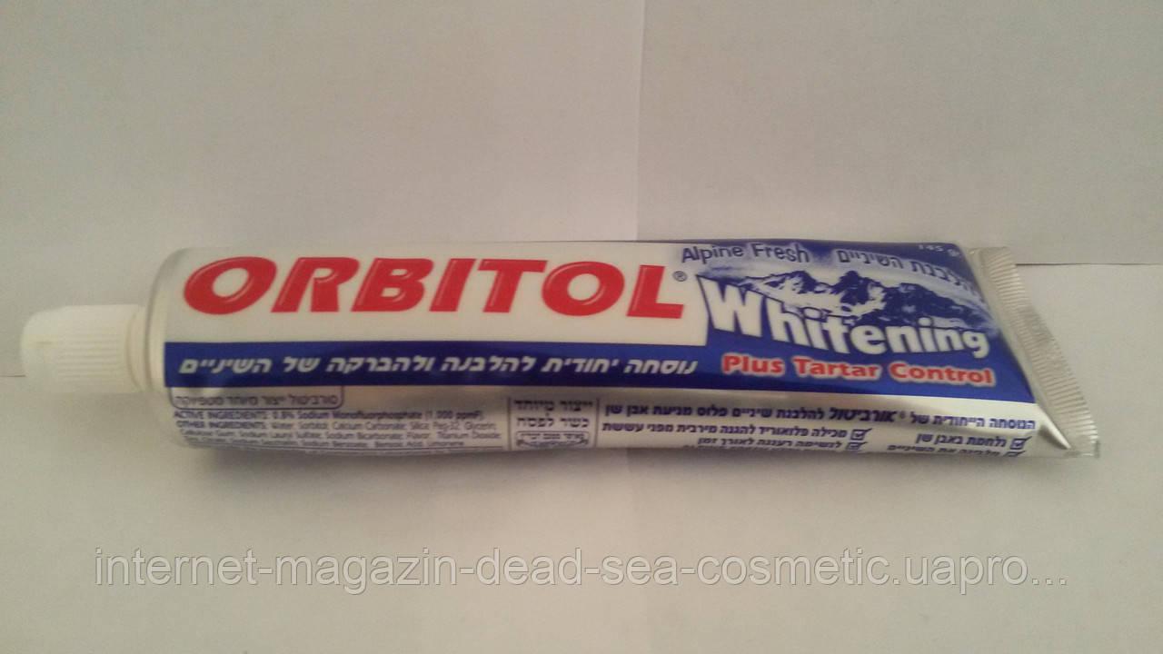 Зубная паста Орбитол отбеливание и профилактика зубного камня