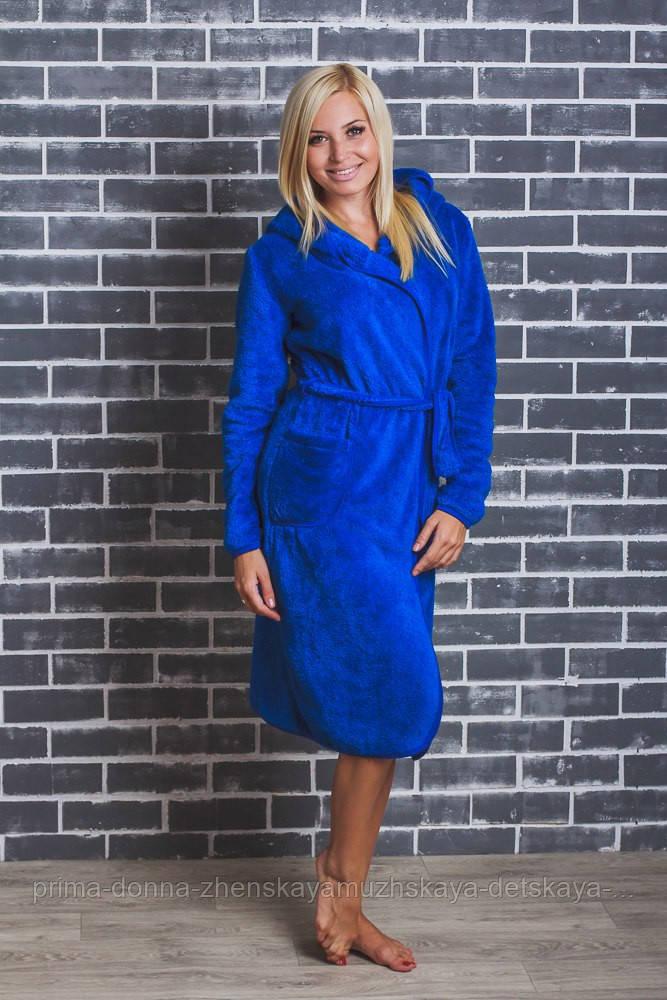 eca9c41141fa2 Женский махровый халат на запах 46, зеленый, 01320, цена 620 грн., купить в  Николаеве — Prom.ua (ID#379405137)