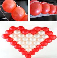 Сетка для моделирования сердца из шаров (70 х 70 см)