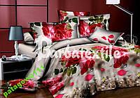 """3D Комплект постельного белья Евро размера """"Ranforce"""""""