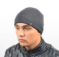 Мужская вязанная шапка  *14030 (С.Р.Ж.)