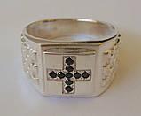 Кольцо 3107Г, серебро 925 проба, кубический цирконий., фото 2