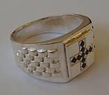 Кольцо 3107Г, серебро 925 проба, кубический цирконий., фото 3