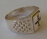 Кольцо 3107Г, серебро 925 проба, кубический цирконий., фото 5