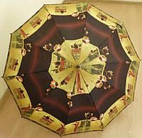 Зонт трость на 10 пластиковых спиц, фото 1