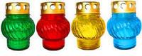 Лампадка с цветным фигурным стеклянным корпусом Большое, 12-02