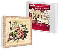 Набор для декупажа на холсте Идейка Париж (ide_94611) 30 х 30 см