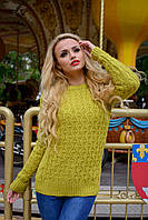 Вязанный женский свитер Турция идет в одном универсальном размере 42-48